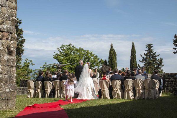 Cerimonia simbolica - Sposarsi al Castello di Petroia