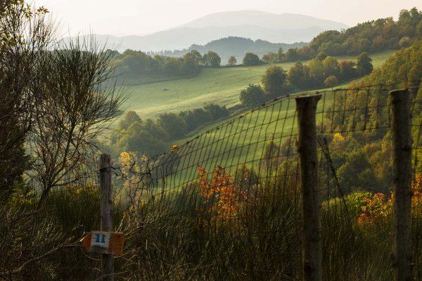 I percorsi pedonali nelle valli di Petroia