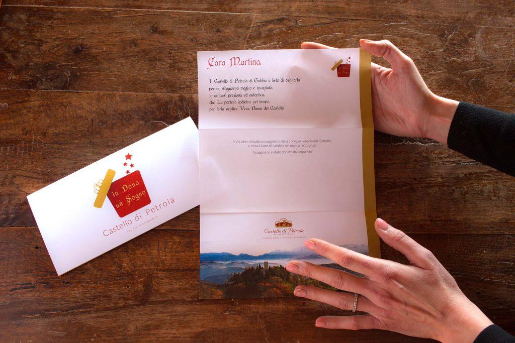 Hotel Castello di Petroia | Gift voucher Castello di Petroia