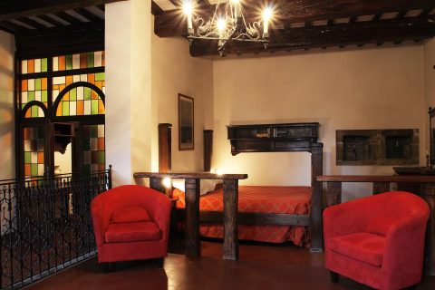 Camera della Suite Ducale Elisabetta Gonzaga