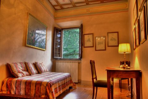 Salotto della Suite Ducale Battista Sforza