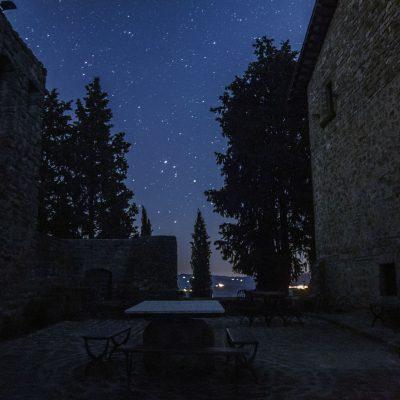 Sotto un cielo trapunto di stelle