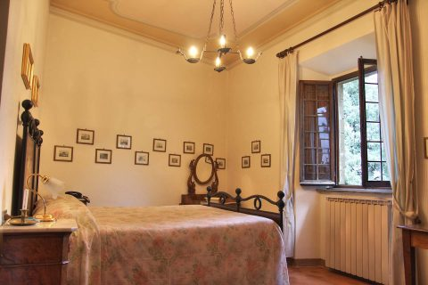 Camera Signorile - Castello di Petroia, Gubbio, Umbria