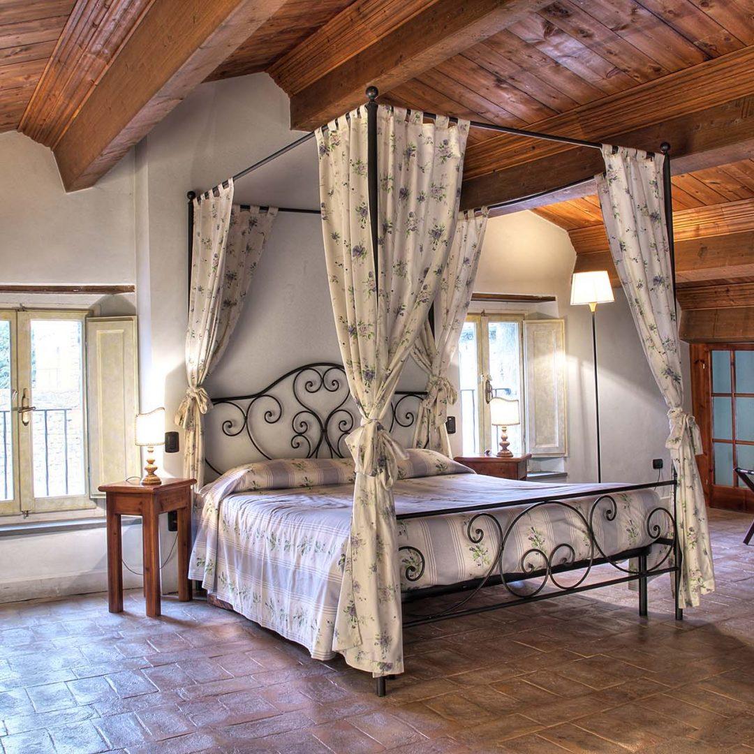 Camera della Suite Reale dell'Aquila